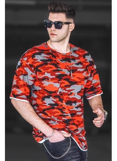 Madmext   Erkek Tişört 4983 Kırmızı